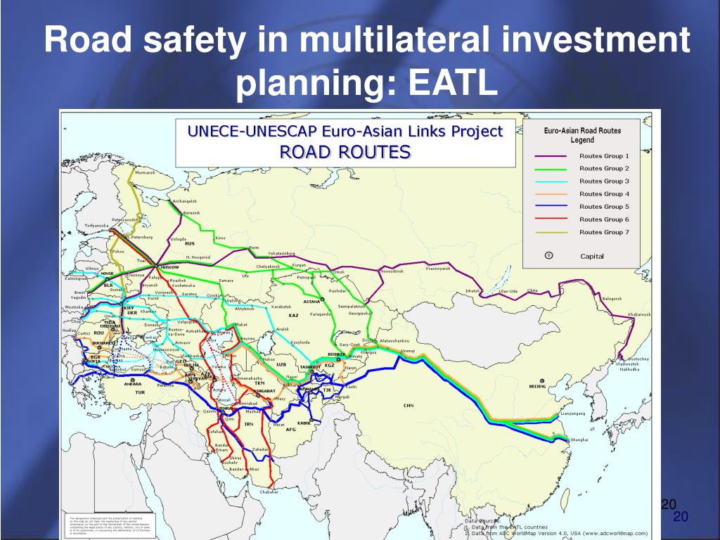 Road safety in multilateral investment planning: EATL