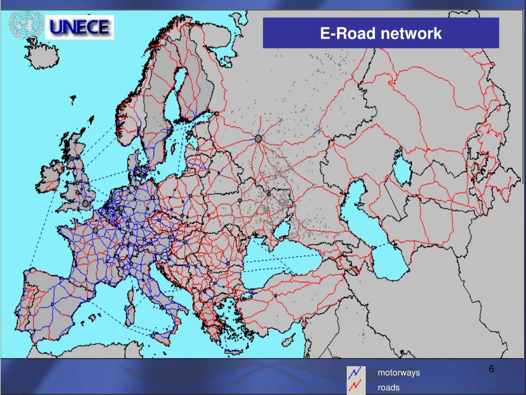 E – Road Network