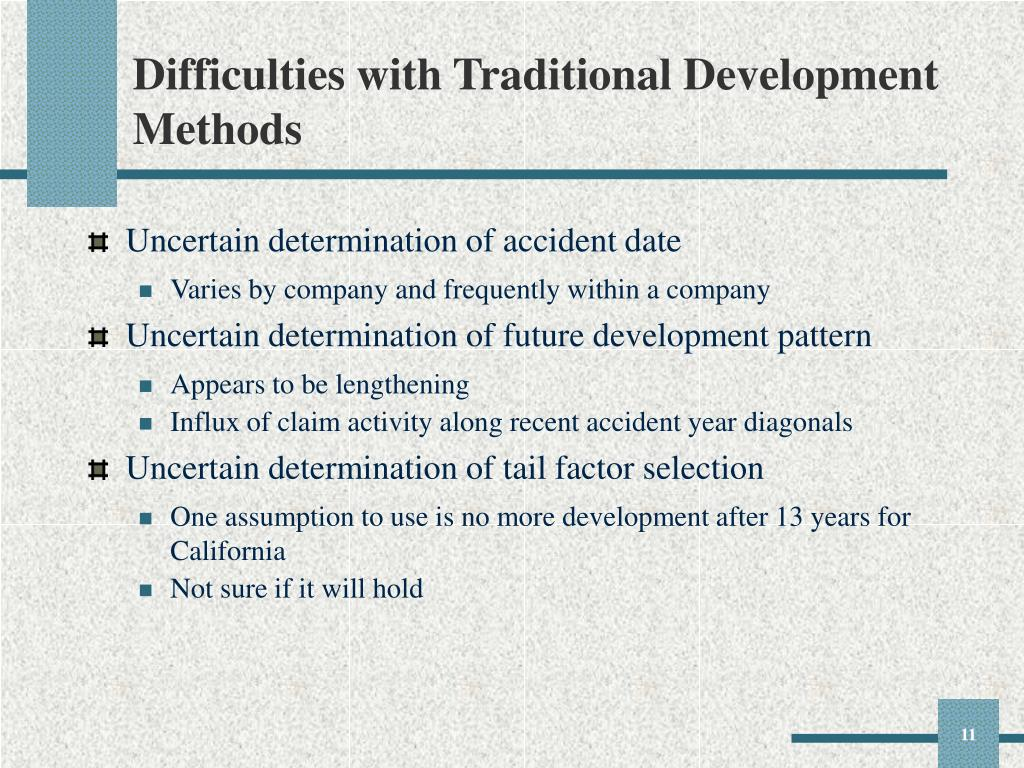 Difficulties with Traditional Development Methods