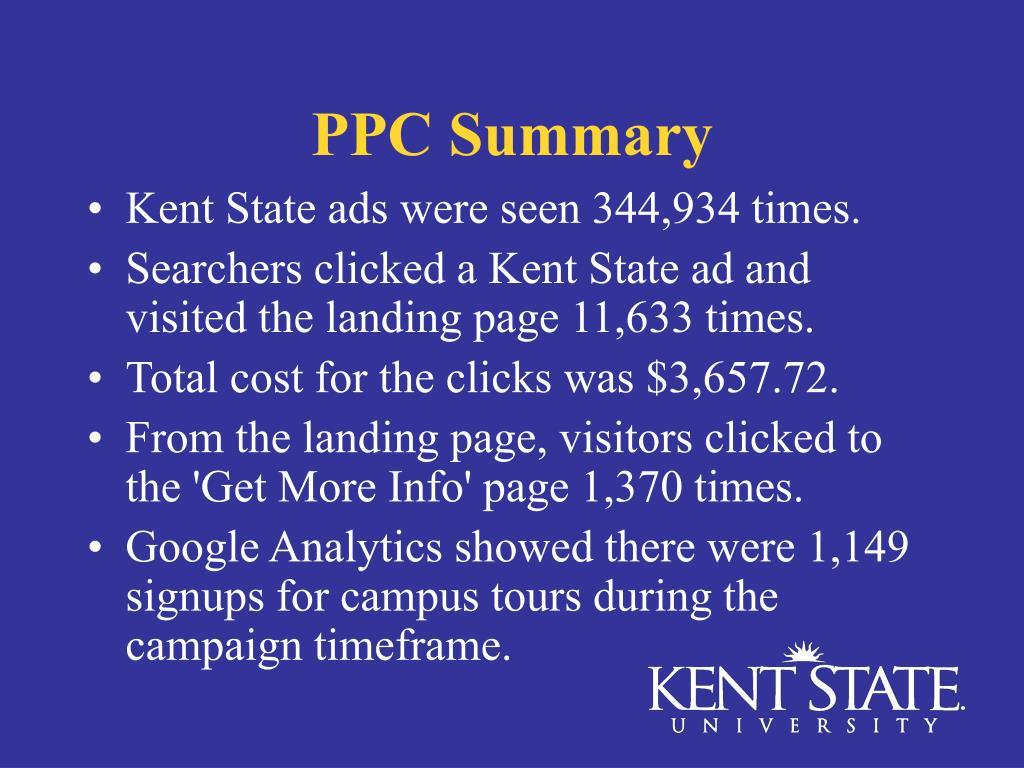 PPC Summary