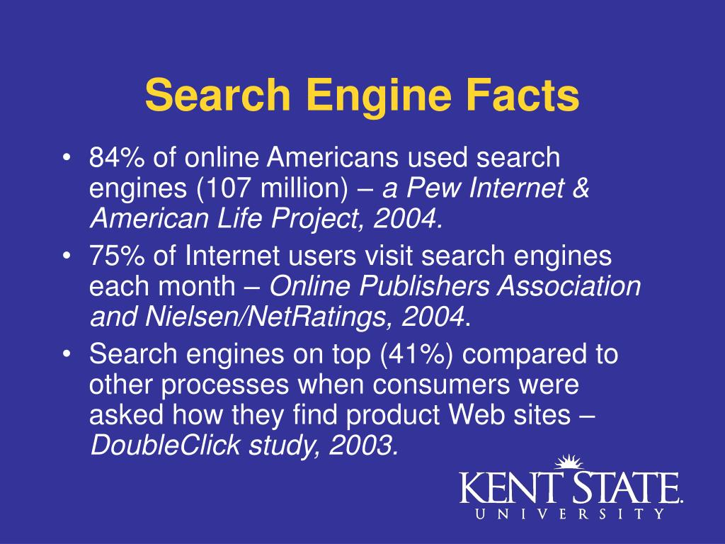 Search Engine Facts