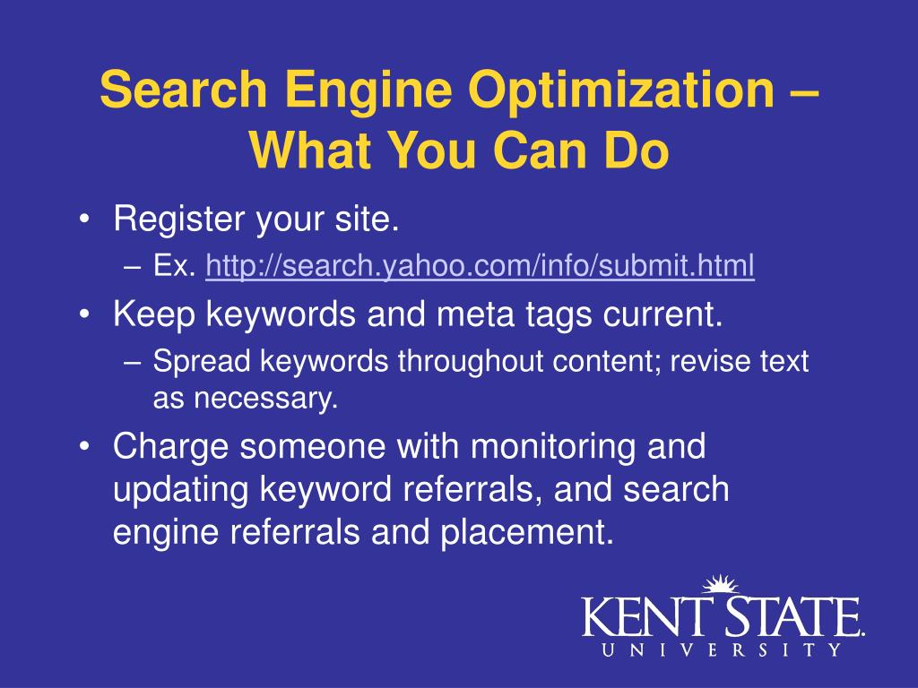 Search Engine Optimization – What You Can Do