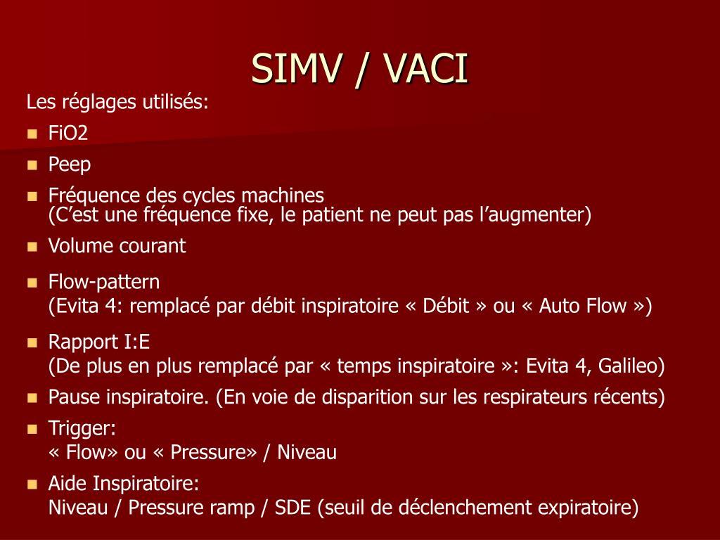 SIMV / VACI