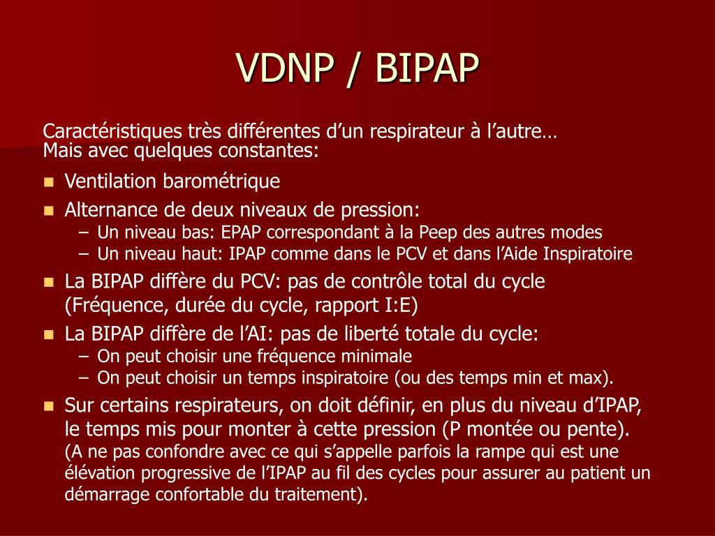 VDNP / BIPAP