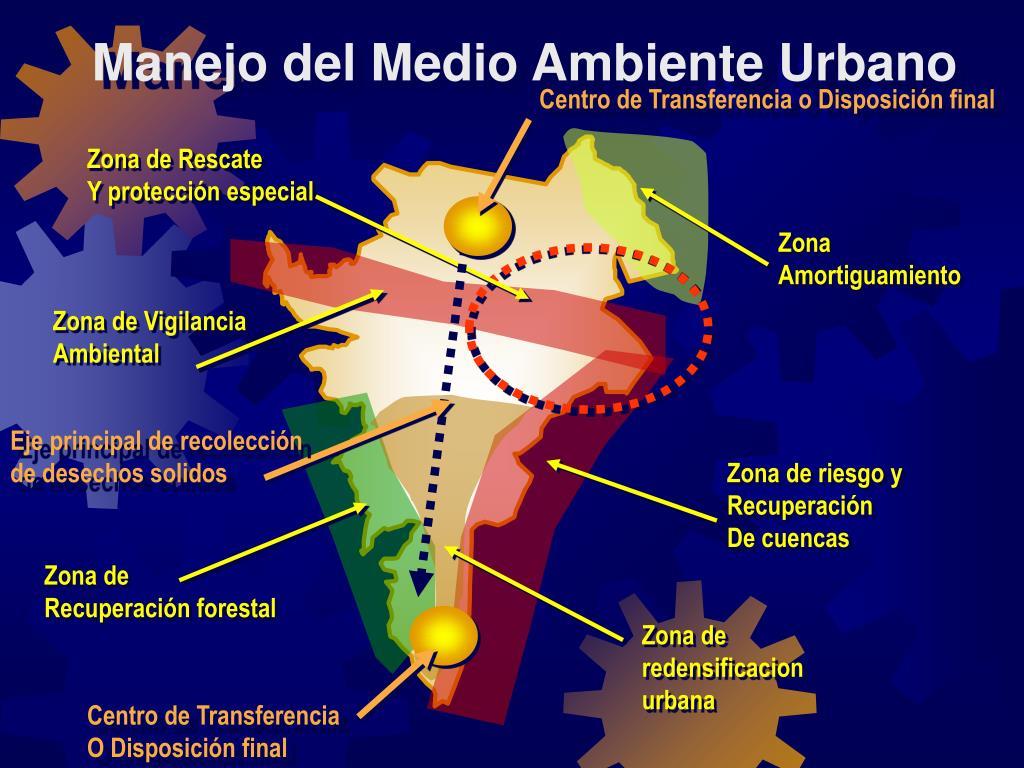 Manejo del Medio Ambiente Urbano