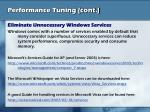 performance tuning cont14