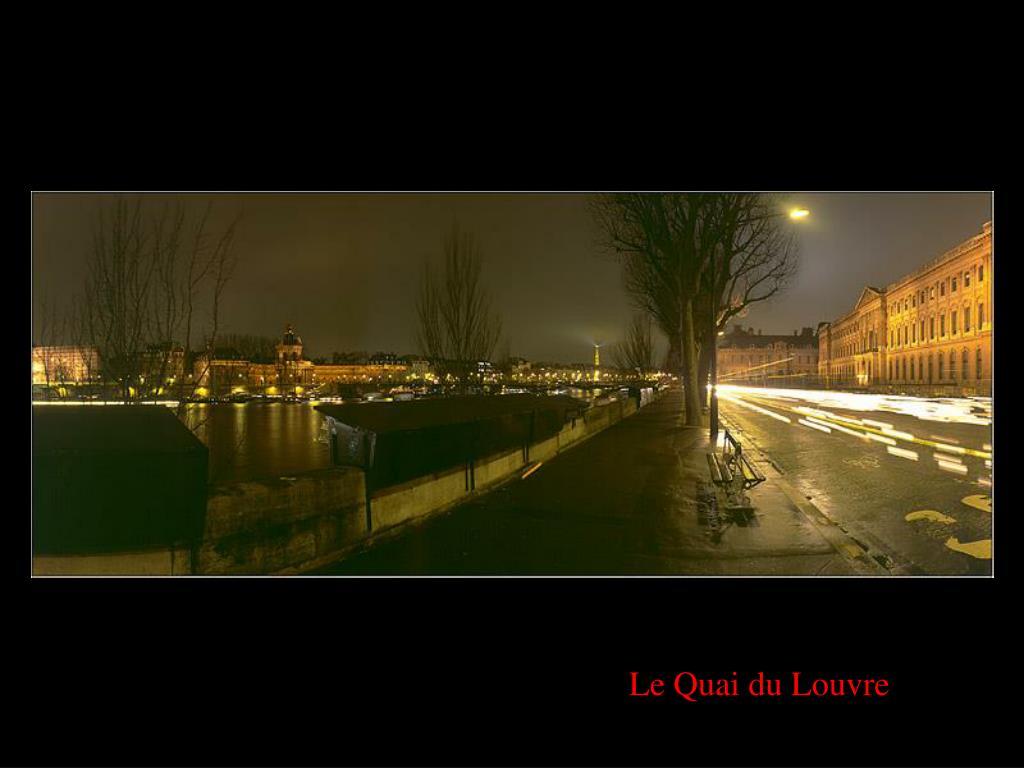 Le Quai du Louvre
