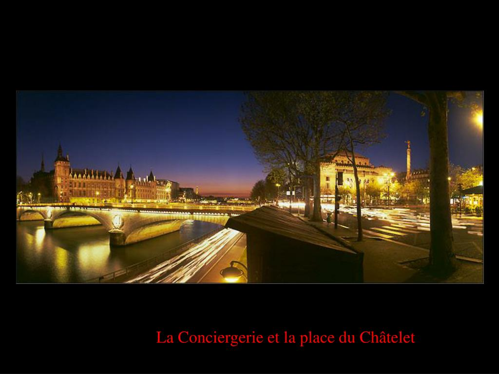 La Conciergerie et la place du Châtelet