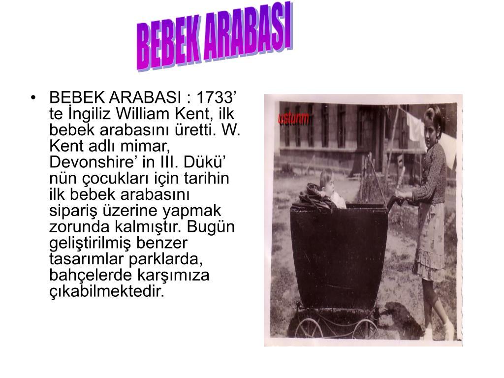 BEBEK ARABASI