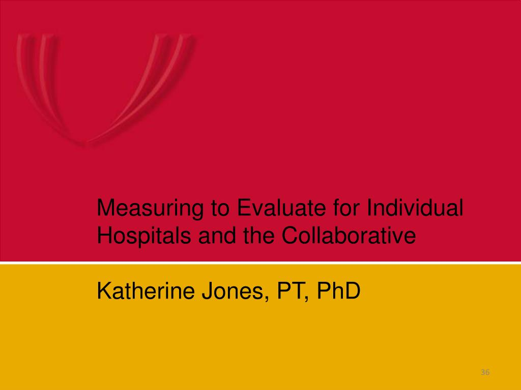 Measuring to Evaluate for Individual