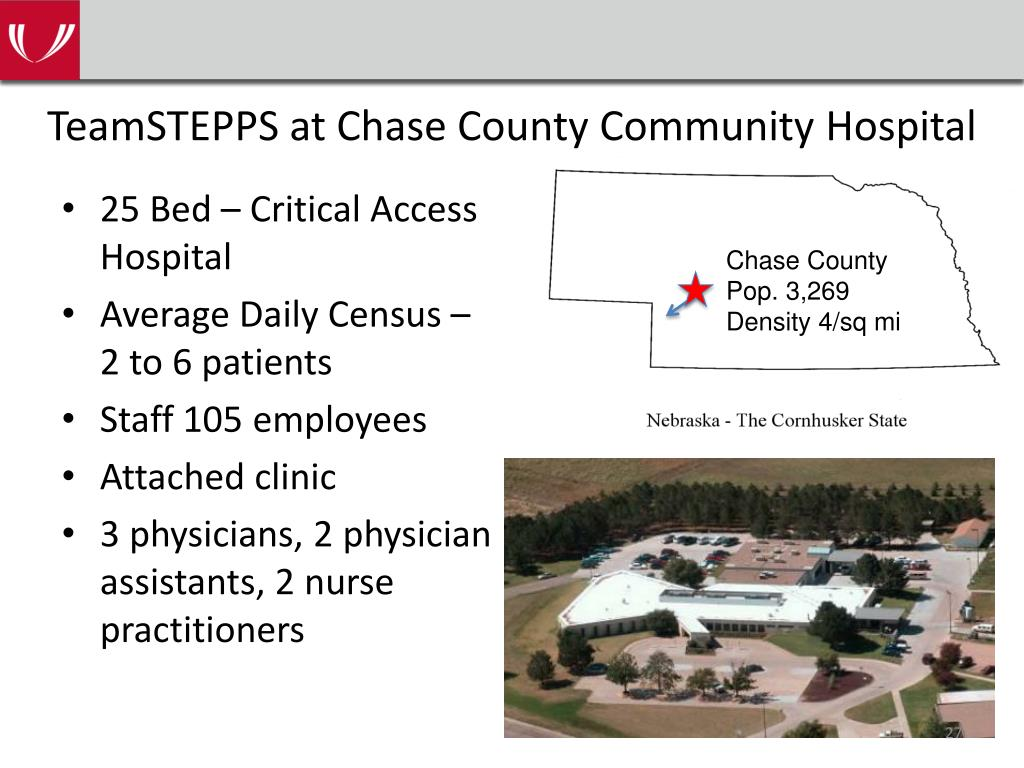 TeamSTEPPS at Chase County Community Hospital