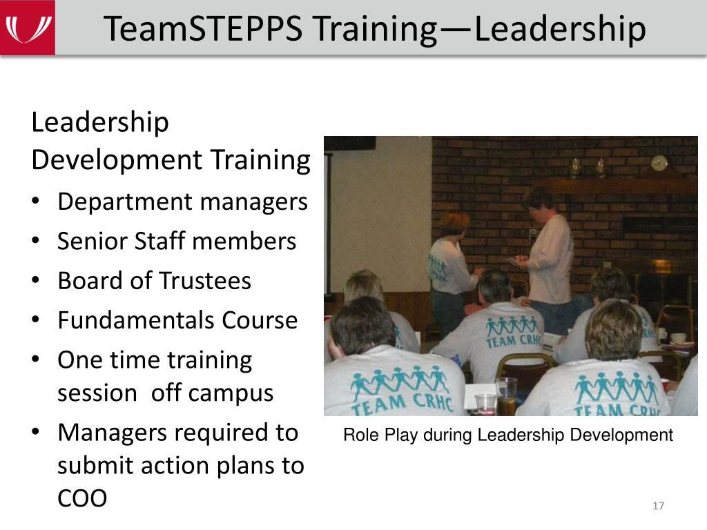 TeamSTEPPS Training—Leadership