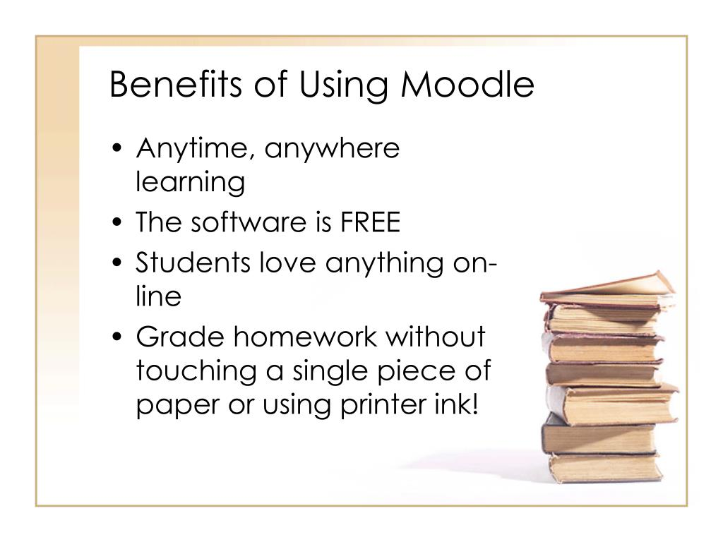 Benefits of Using Moodle