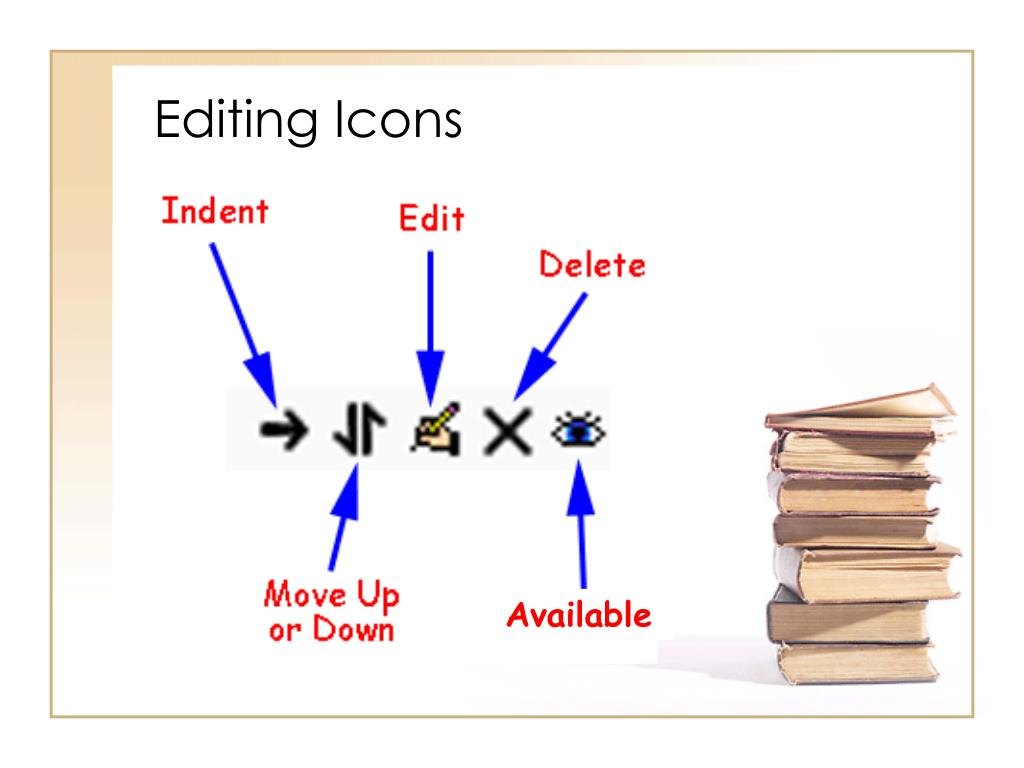 Editing Icons