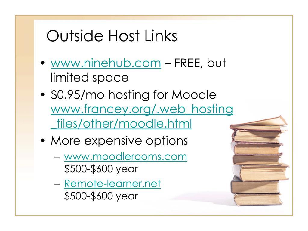 Outside Host Links