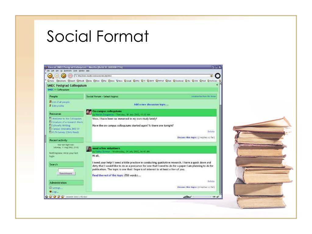 Social Format