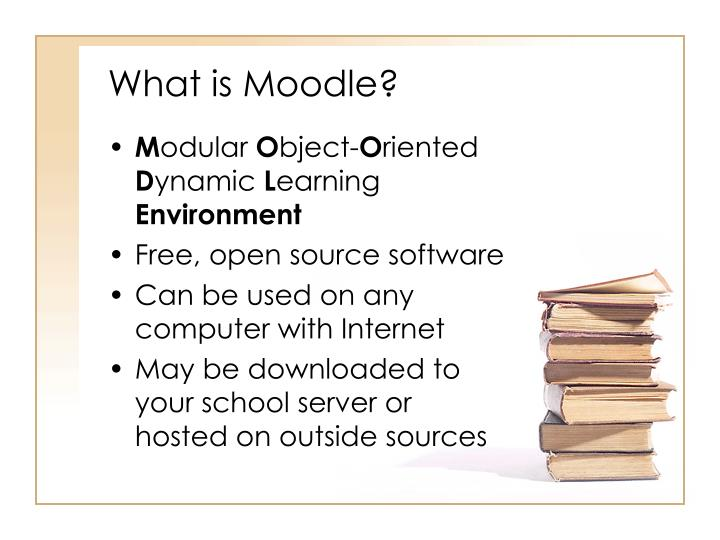 What is moodle l.jpg