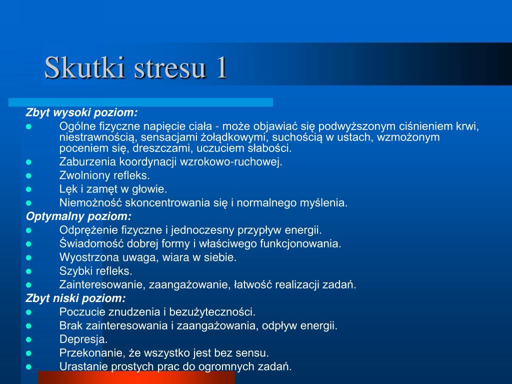 Skutki stresu 1
