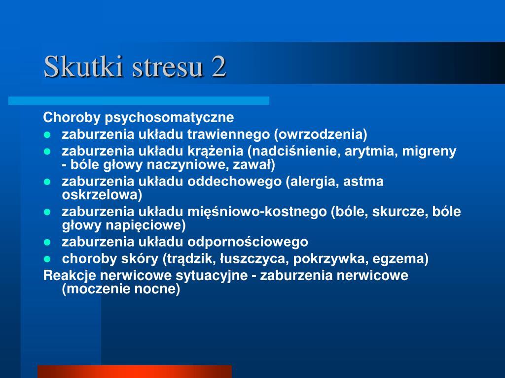 Skutki stresu 2
