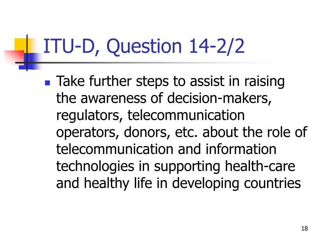ITU-D, Question 14-2/2