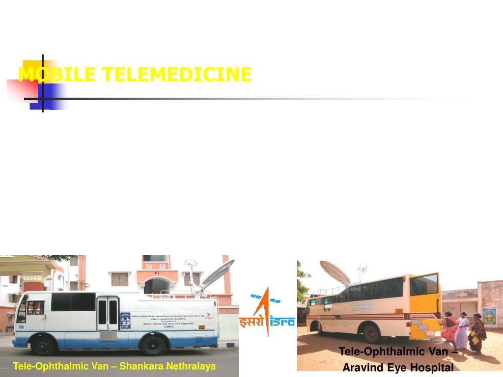Tele-Ophthalmic Van – Shankara Nethralaya