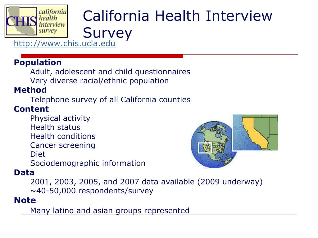 California Health Interview Survey
