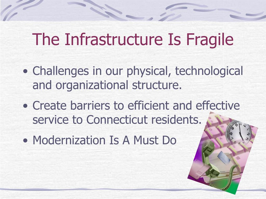 The Infrastructure Is Fragile