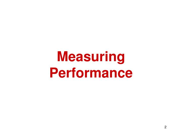 Measuring performance l.jpg