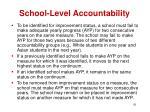 school level accountability