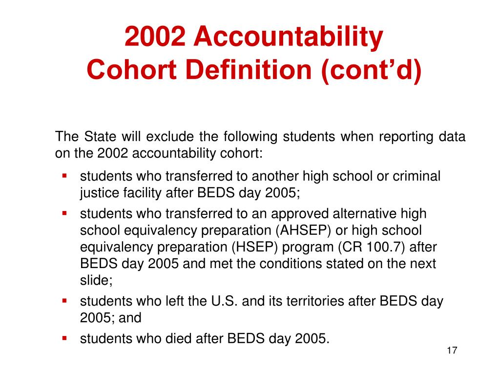 2002 Accountability