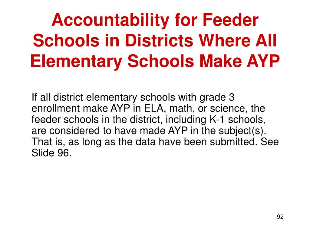 Accountability for Feeder