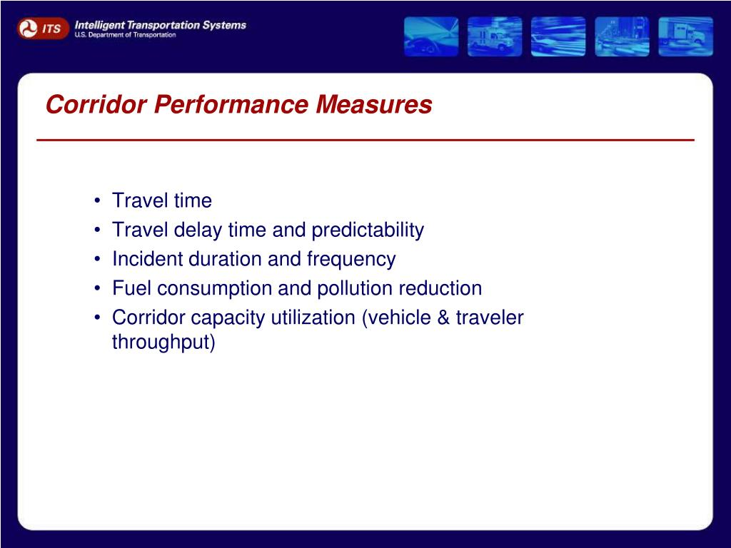 Corridor Performance Measures