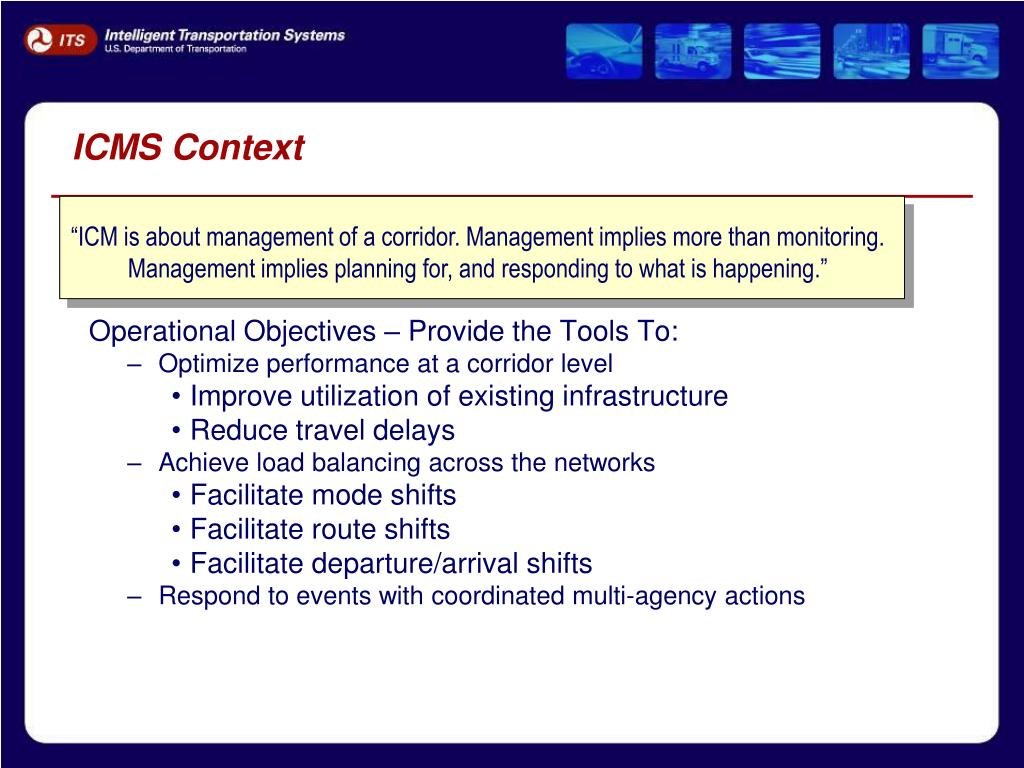 ICMS Context