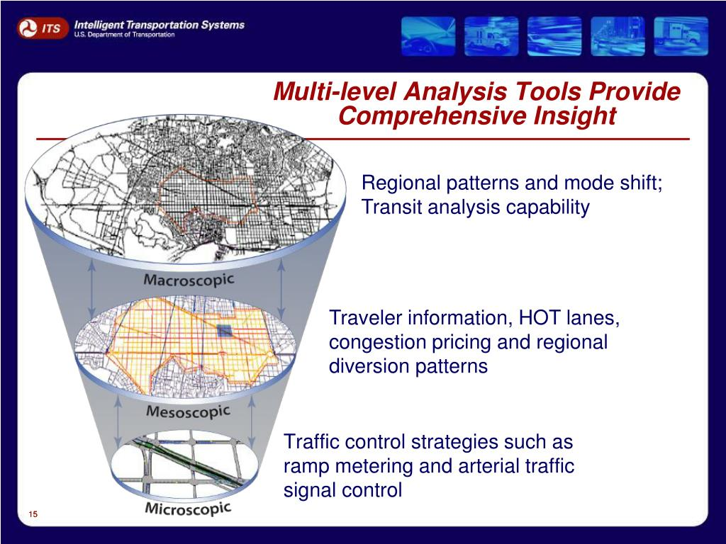Multi-level Analysis Tools Provide