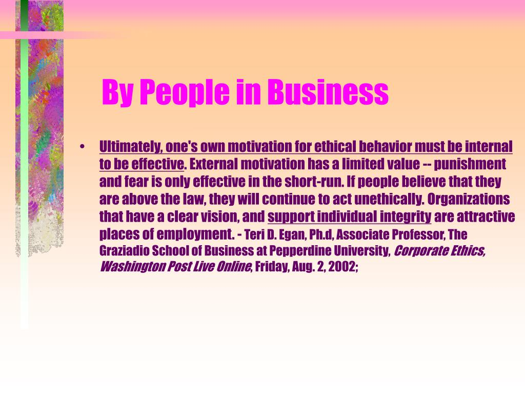 By People in Business