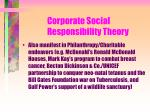 corporate social responsibility theory112