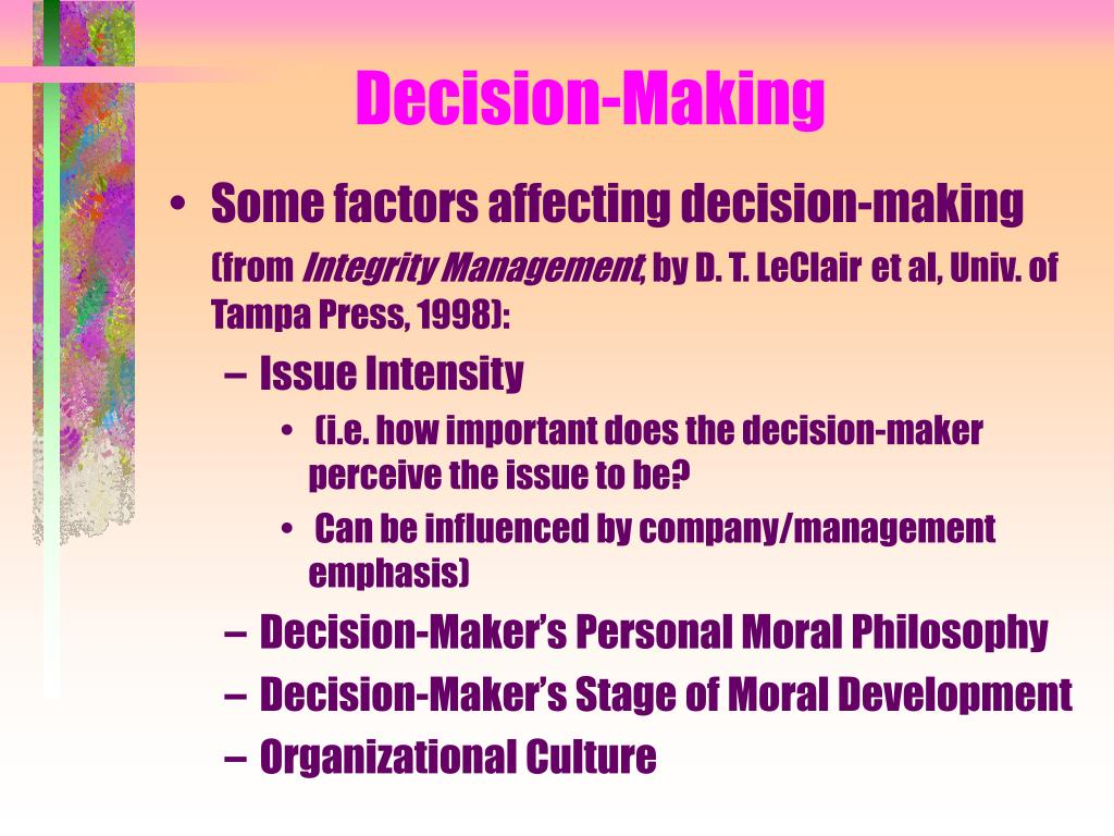 Decision-Making