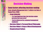 decision making7