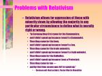 problems with relativism21