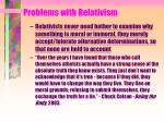 problems with relativism23