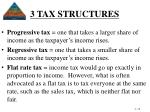 3 tax structures19