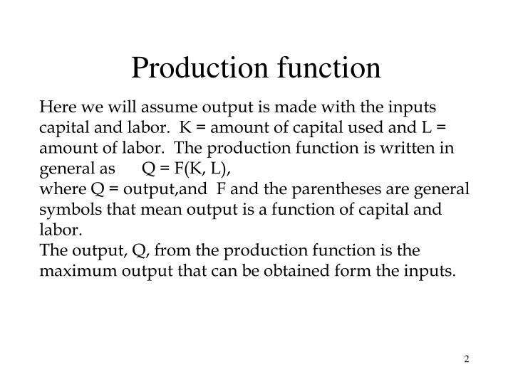 Production function l.jpg
