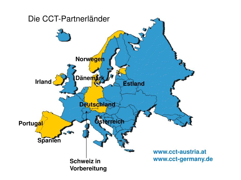 Die CCT-Partnerländer