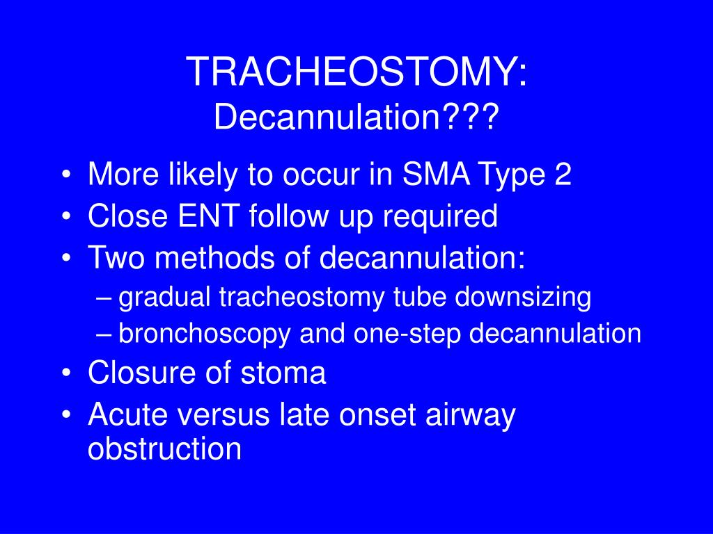 TRACHEOSTOMY: