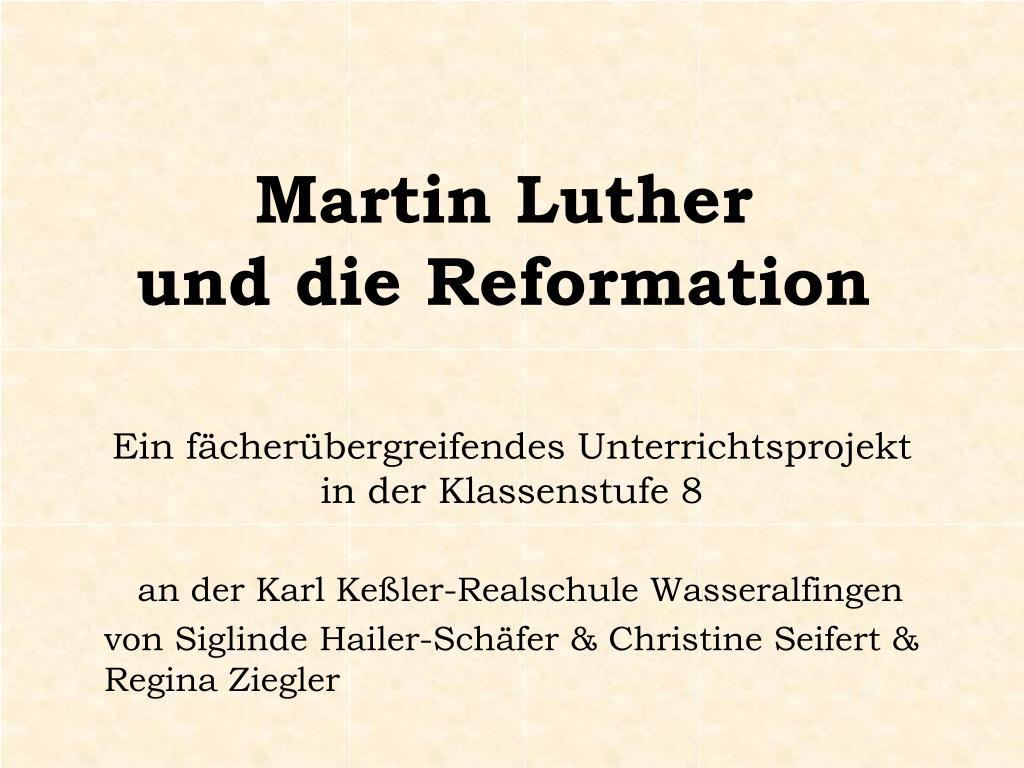 ppt martin luther und die reformation powerpoint presentation id 454559. Black Bedroom Furniture Sets. Home Design Ideas
