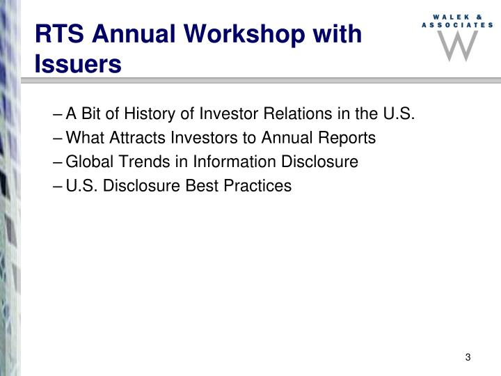 Rts annual workshop with issuers l.jpg