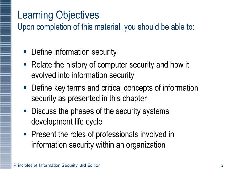 Learning objectives upon completion of this material you should be able to l.jpg