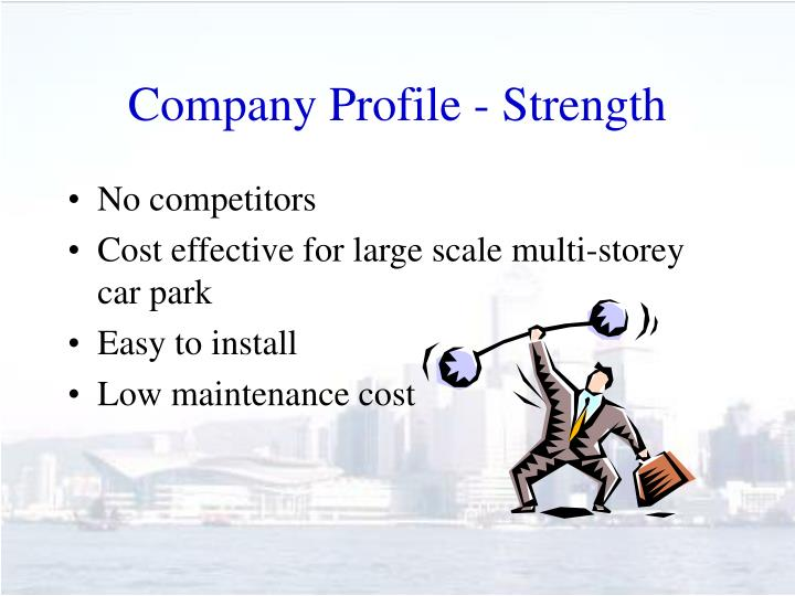 Company Profile - Strength