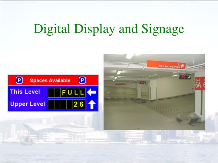 Digital Display and Signage