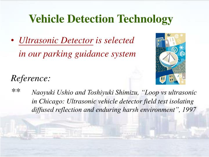 Vehicle Detection Technology